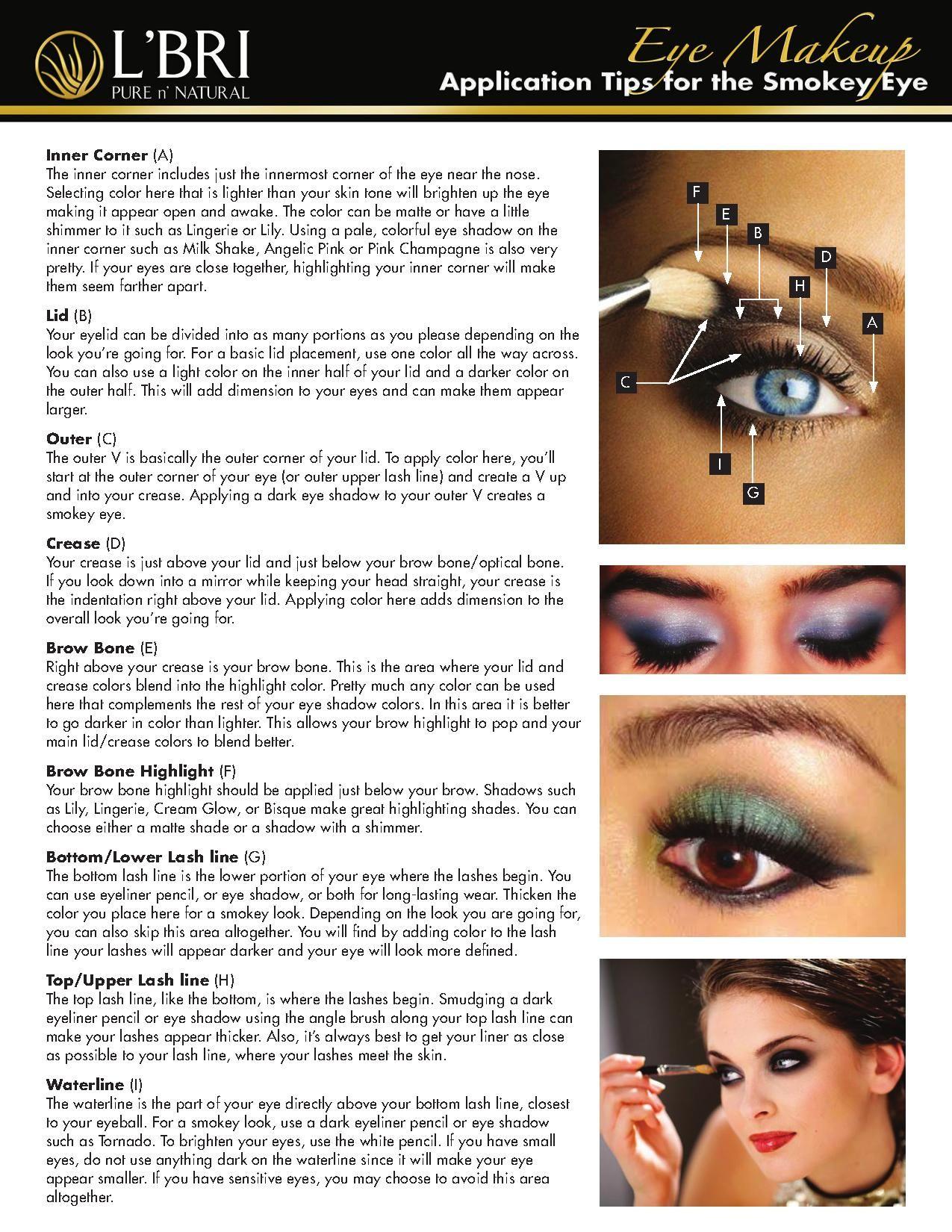 How To Create The Smokey Eye Using L Bri Makeup Contact Me To