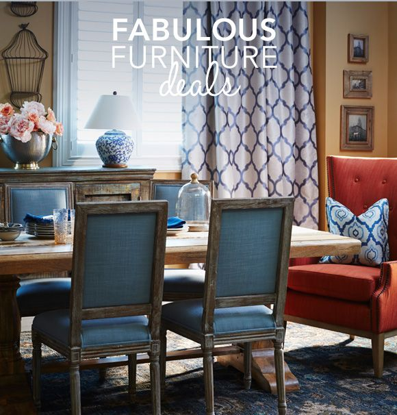FABULOUS FURNITURE DEALS HomeSense RH Style Chairs