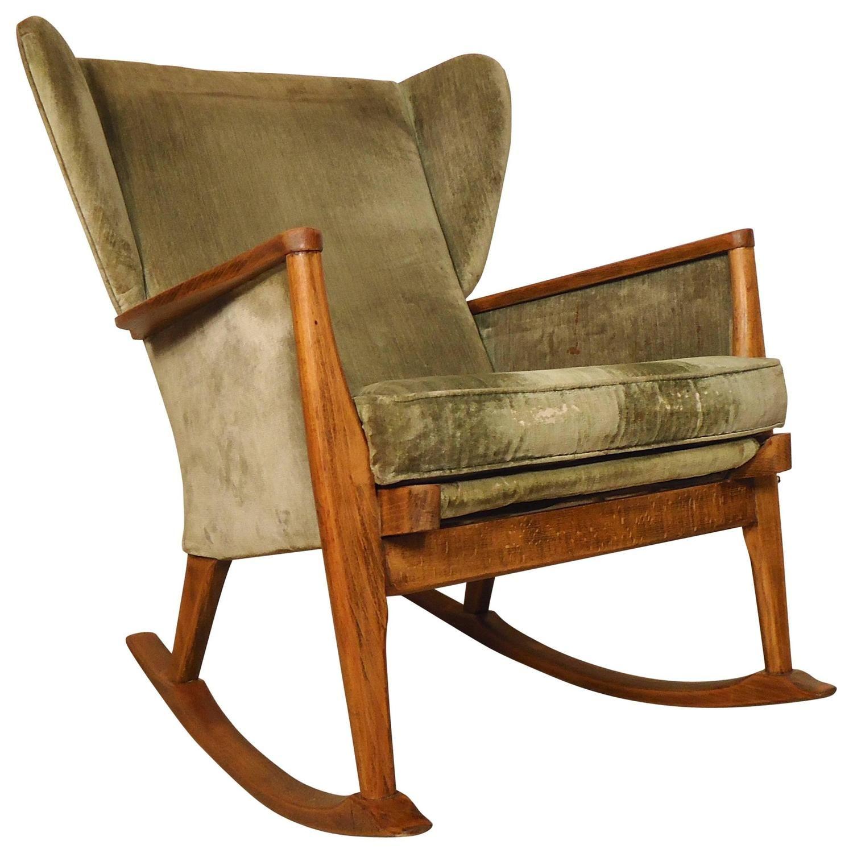 Awe Inspiring Parker Knoll Wingback Rocking Chair My 1Stdibs Favorites Machost Co Dining Chair Design Ideas Machostcouk