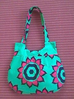 Cute tote bag from scraps
