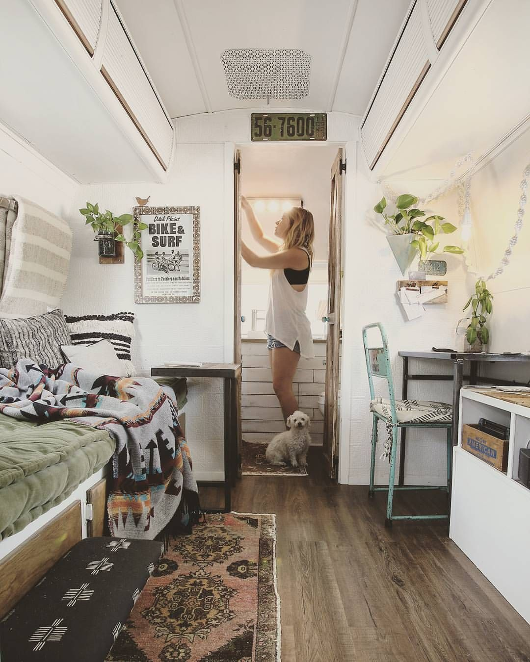 Airstream 24 | airstream ideas | Remodeled campers, Camper