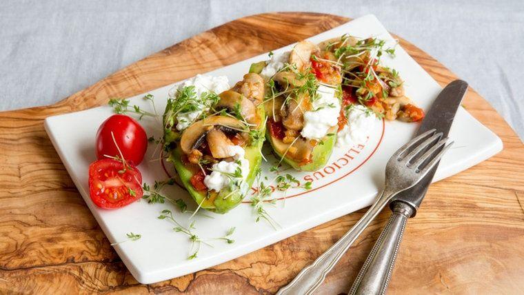 Rezept Gebratene Ingwer-Pilze mit Avocado   NDR.de
