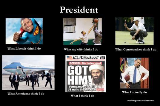 What I Really Do : President Obama! lol