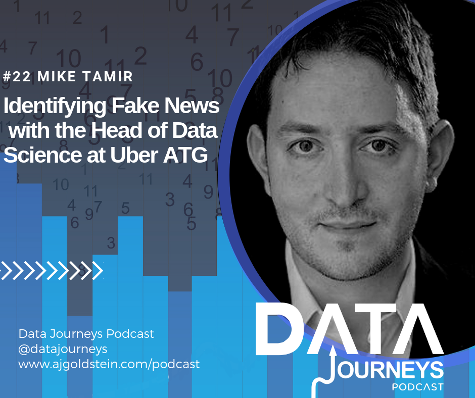 To kick of season 2 of the Data Journeys Podcast, I'm joined by Mike