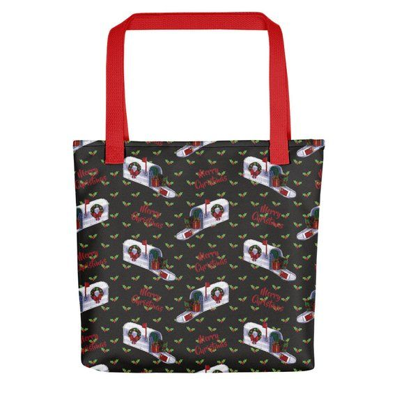 Postal Worker Tote bag - Christmas Gift for Mail Carrier ...