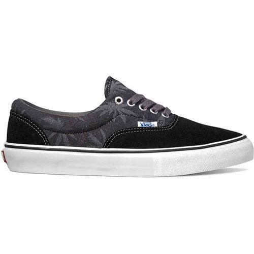 Vans Men's Era Pro Shoes - Black Palm Jacquard