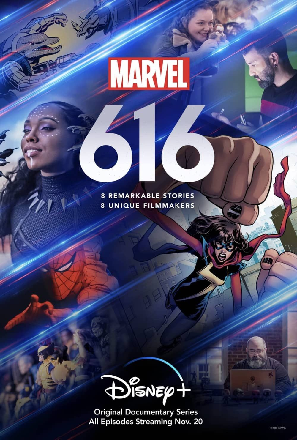 Disney releases first look trailer for marvels 616