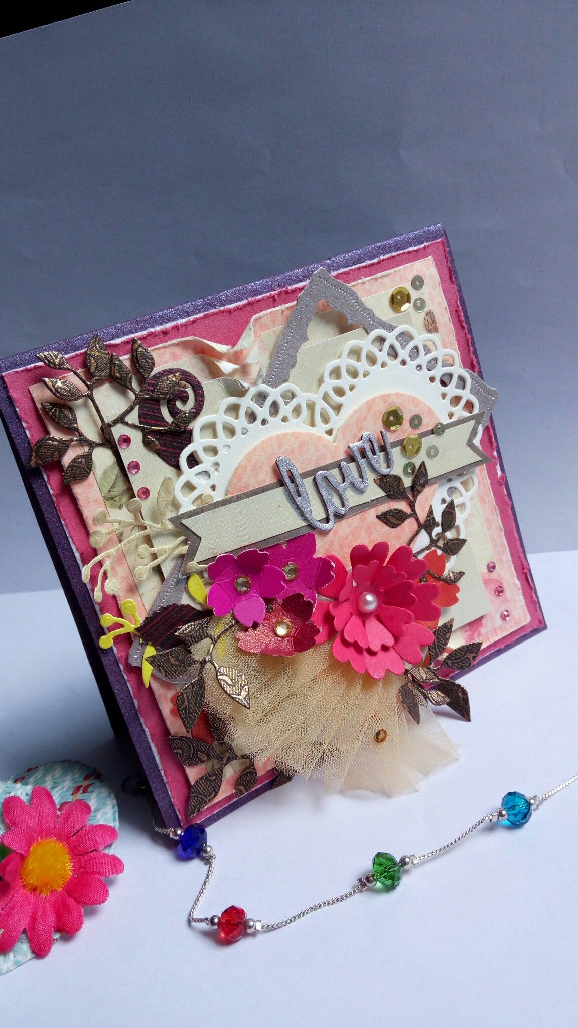 Pin by neha gaur on paper magic neha creations pinterest paper magic greeting card shabby chic card sentiments congratulations card shabby chic style m4hsunfo