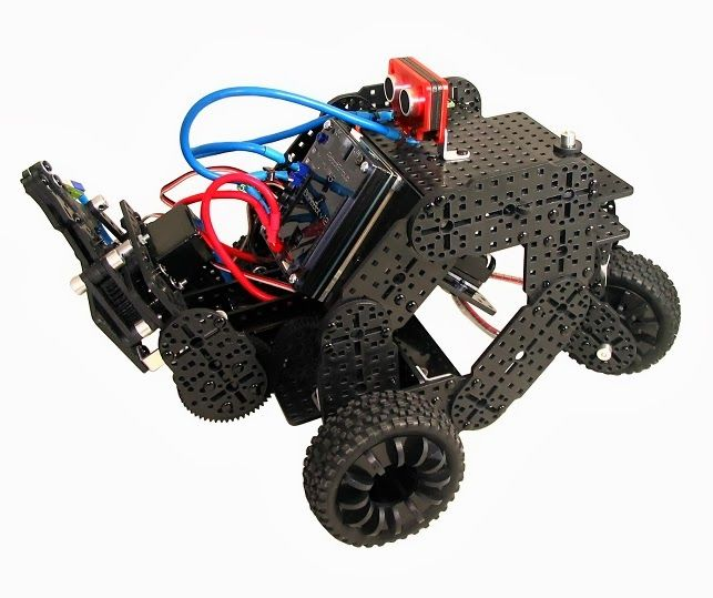 Multiplo Open-Source Robotics Kits: New in the Maker Shed