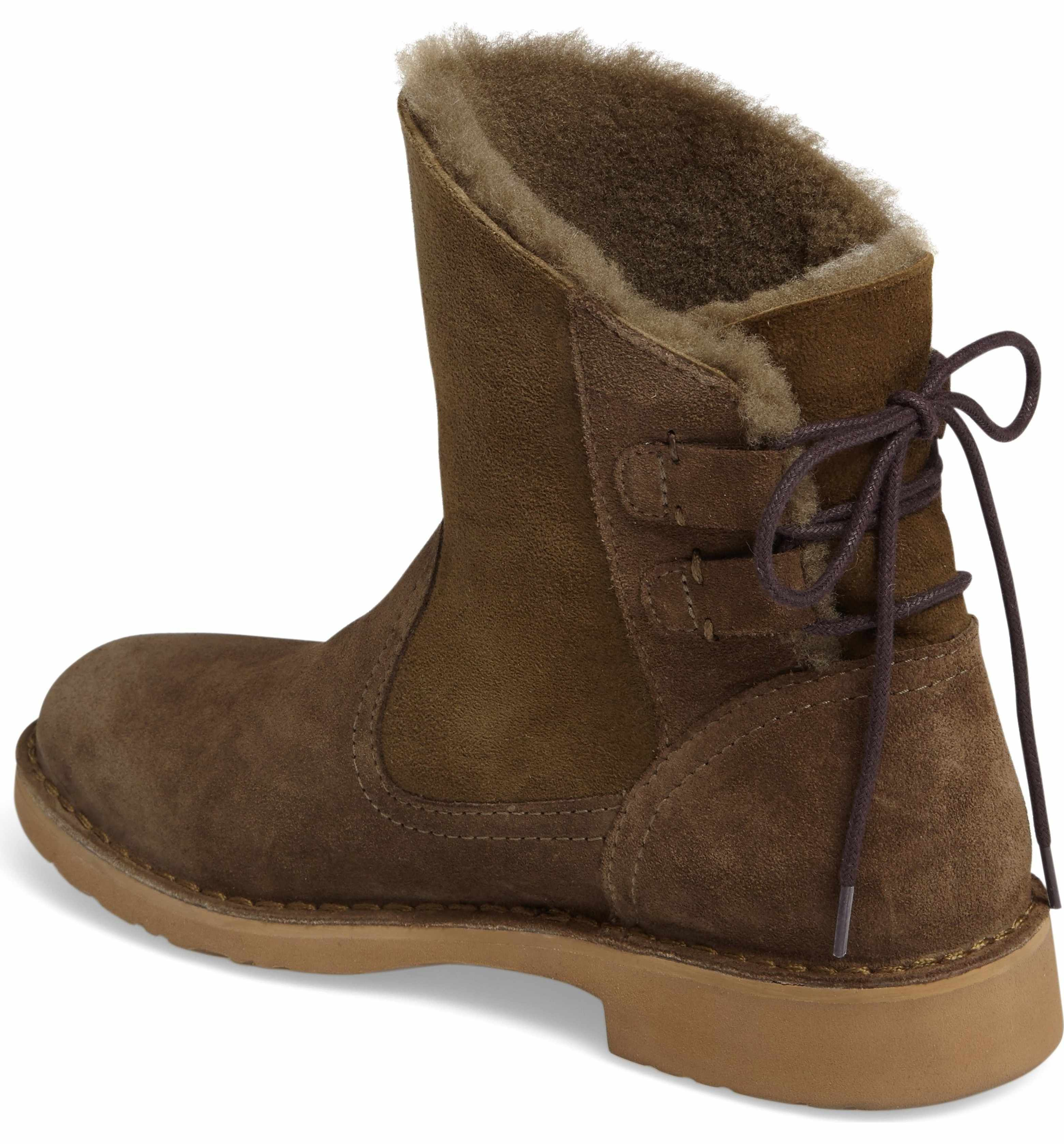 8d9af6f41a6 Main Image - UGG® Naiyah Lace-Back Genuine Shearling Boot (Women ...