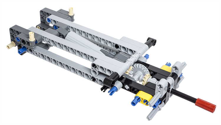 LEGO Technic Building Tip - Tipper Mechanism Using a Linear