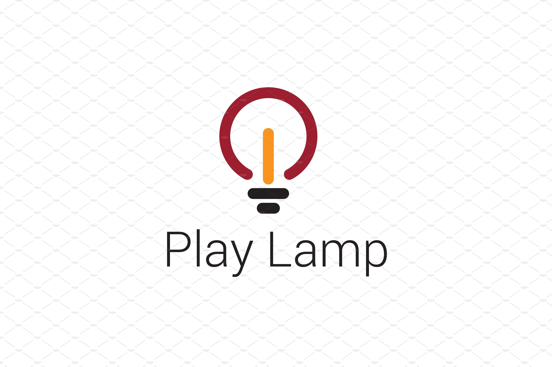 Play Lamp Logo Lamp Logo Logos Business Cards Collection