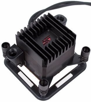The New Revised Version Ii Of Swiftech S Apogee Drive Combines The Cpu Waterblock A Pump And A Slick Black Heatsink All In One Just Add Intel Driving Pumps