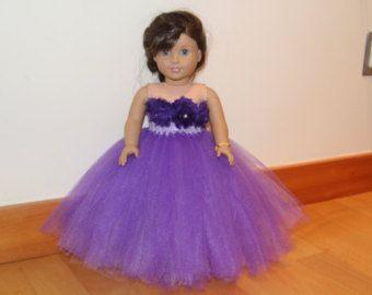 American doll wedding dress. American doll von LudMilaBoutique