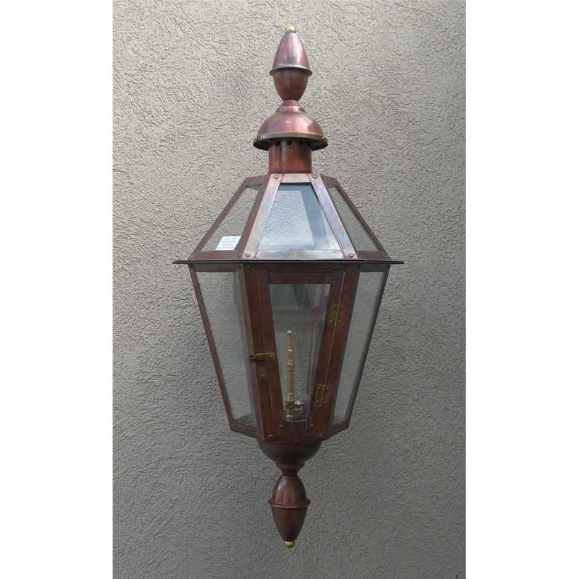Regency Gl23ctcb Rue Barrett Natural Gas Light With Open Flame Burner And Manual Ignition On Wall Mount