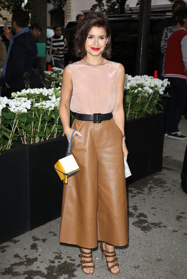 Leather culottes - always perfect