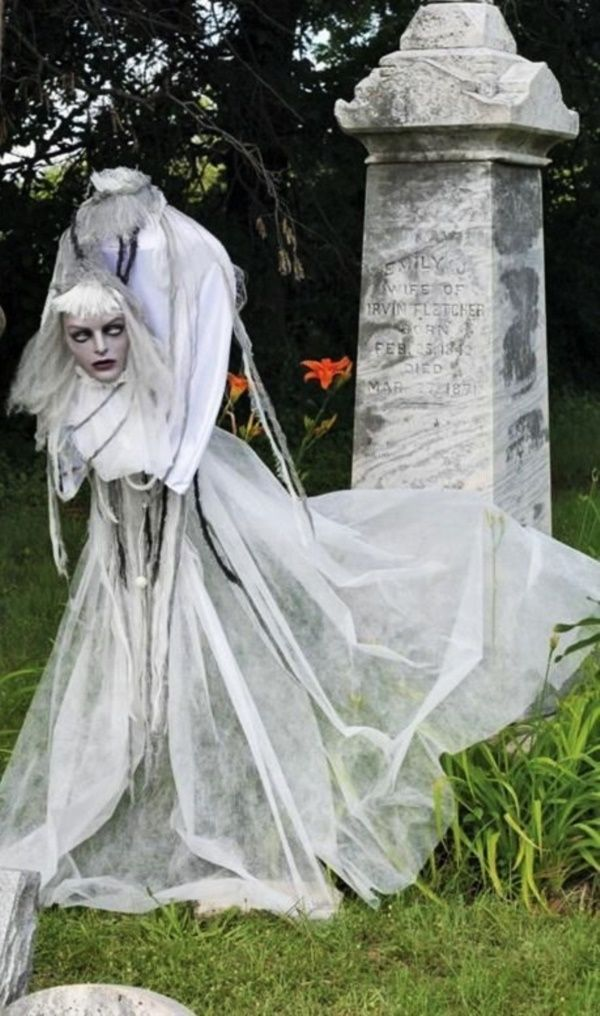 25 Scary Halloween Decorations for Outdoor Party Halloween