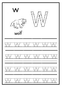 Lowercase Letter W Worksheet Free Printable Preschool And Kindergarten Letter W Worksheets Lower Case Letters Worksheets
