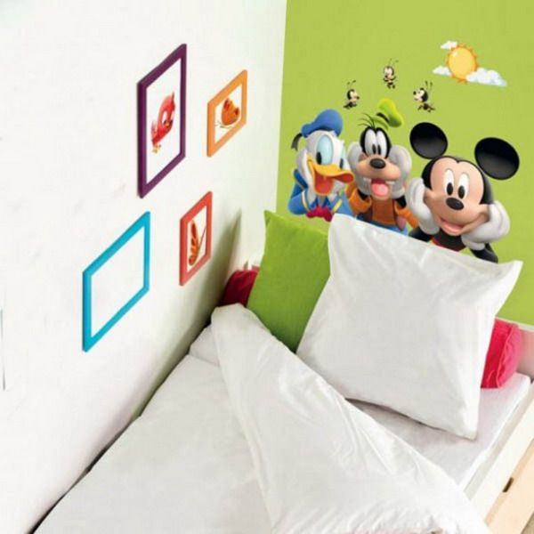 Disney Stars Wall Sticker Murals for Kids Bedroom Ideas   Andrew ...