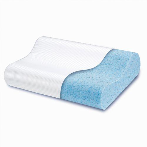 Bliss Contour Gel Memory Foam Pillow