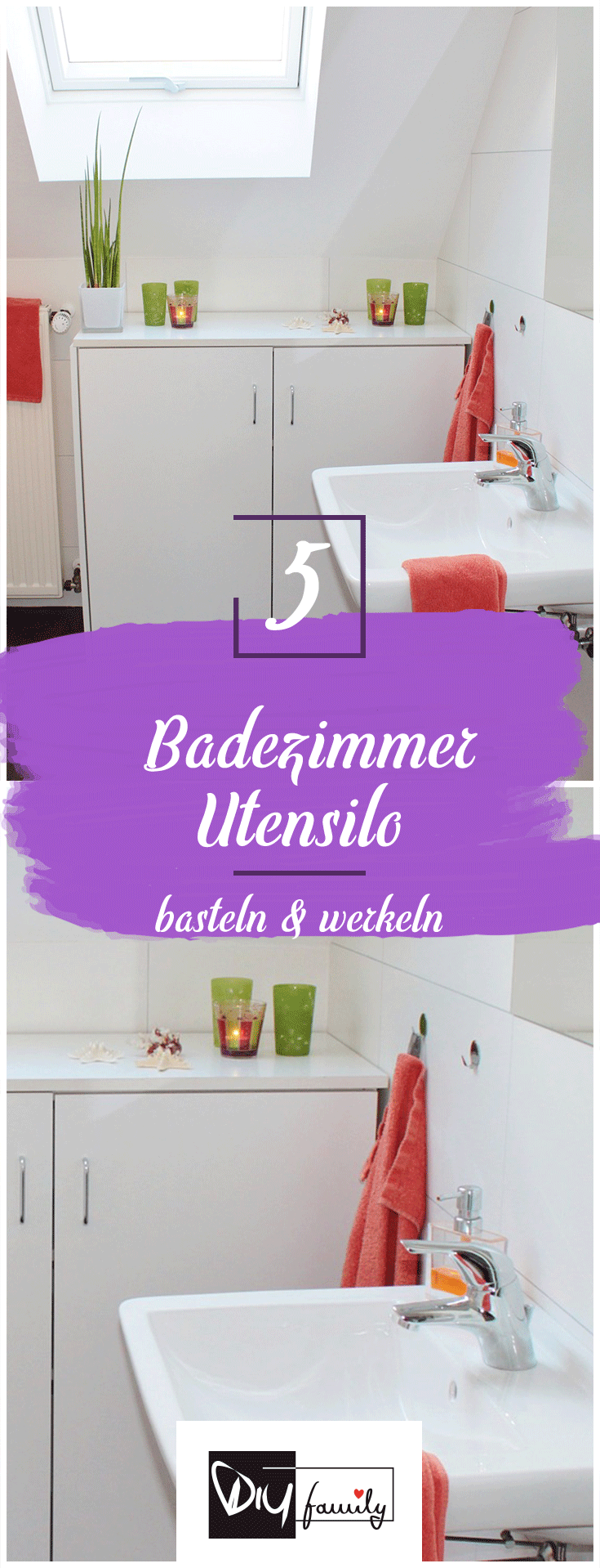 Badezimmer dekor bastelideen pin by diyfamily ideen fürs nähen basteln und vieles mehr on