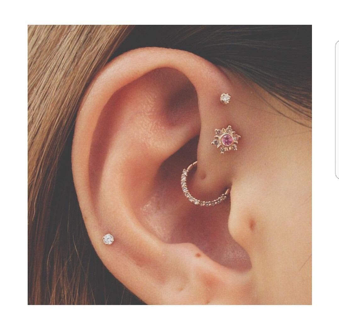 Nose pin without piercing  Pin by Vane on Piercings  Pinterest  Piercings Piercing and Ear