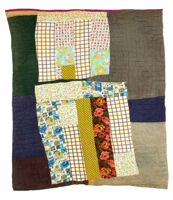 vintage quilt reminiscent of gee 39 s bend in the ebook quilts by roderick kiracofe gee 39 s bend. Black Bedroom Furniture Sets. Home Design Ideas