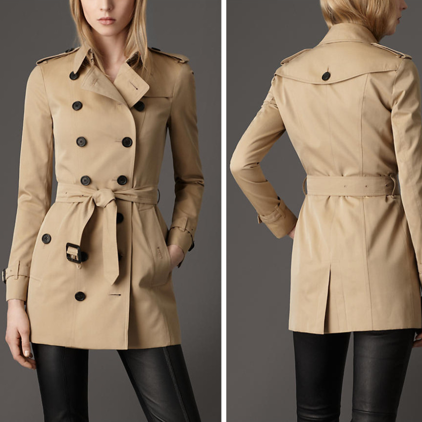 Burberry Coat OUTLET$113! Holy cow