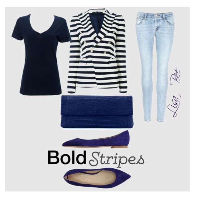 Casual Stripes #LisaBee
