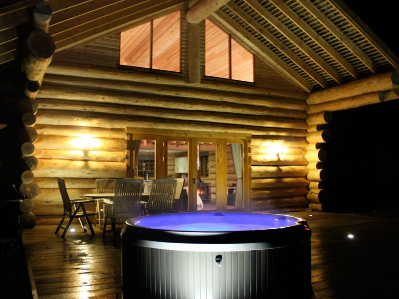 Log Cabins In Lake District Lodges With Hot Tubs Cabin Hot Tub River Cabin