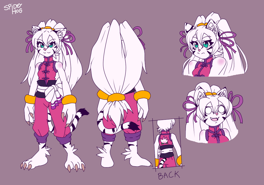 XiuMei the Kung Fu White Tigress reference by https//www