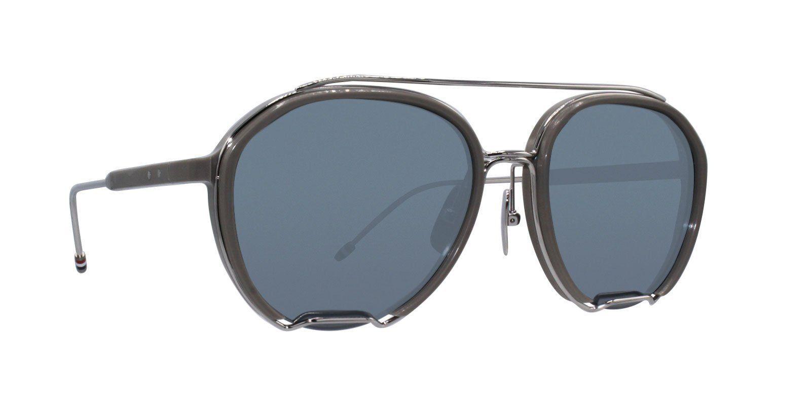 38dfd0681d56 Thom Browne - TB-810 Gray - Silver-sunglasses-Designer Eyes