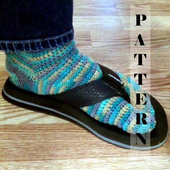 Tabi Split Toe Socks Flip Flop Socks Crochet Pattern 517 Instant