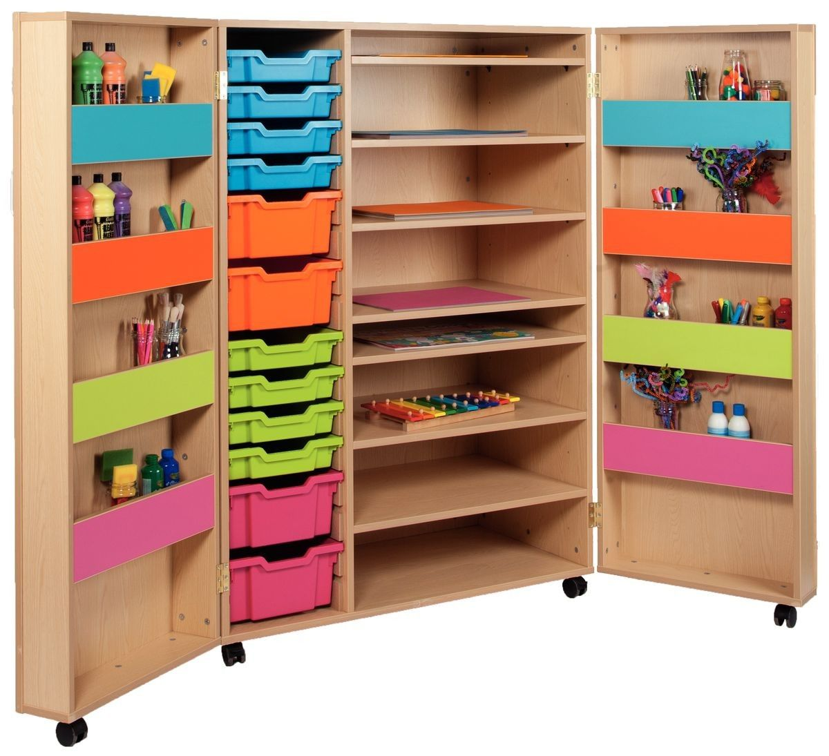 Classroom storage ideas home gt classroom furniture for Storage in cupboards