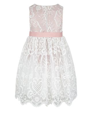 Elizabeth Lace Dress | Pink | Monsoon