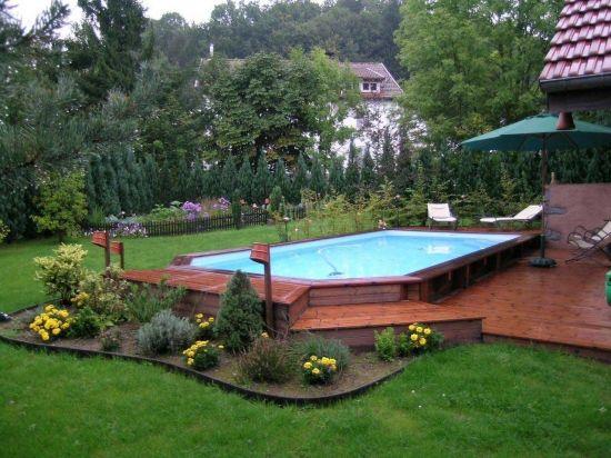 piscine christine caron piscine en 2019 piscine. Black Bedroom Furniture Sets. Home Design Ideas