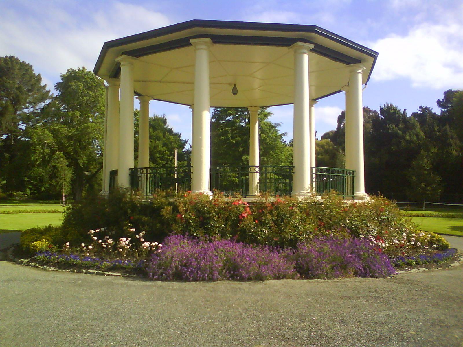 Queens Park band rotunda Invercargill New Zealand | NZ | Pinterest ...