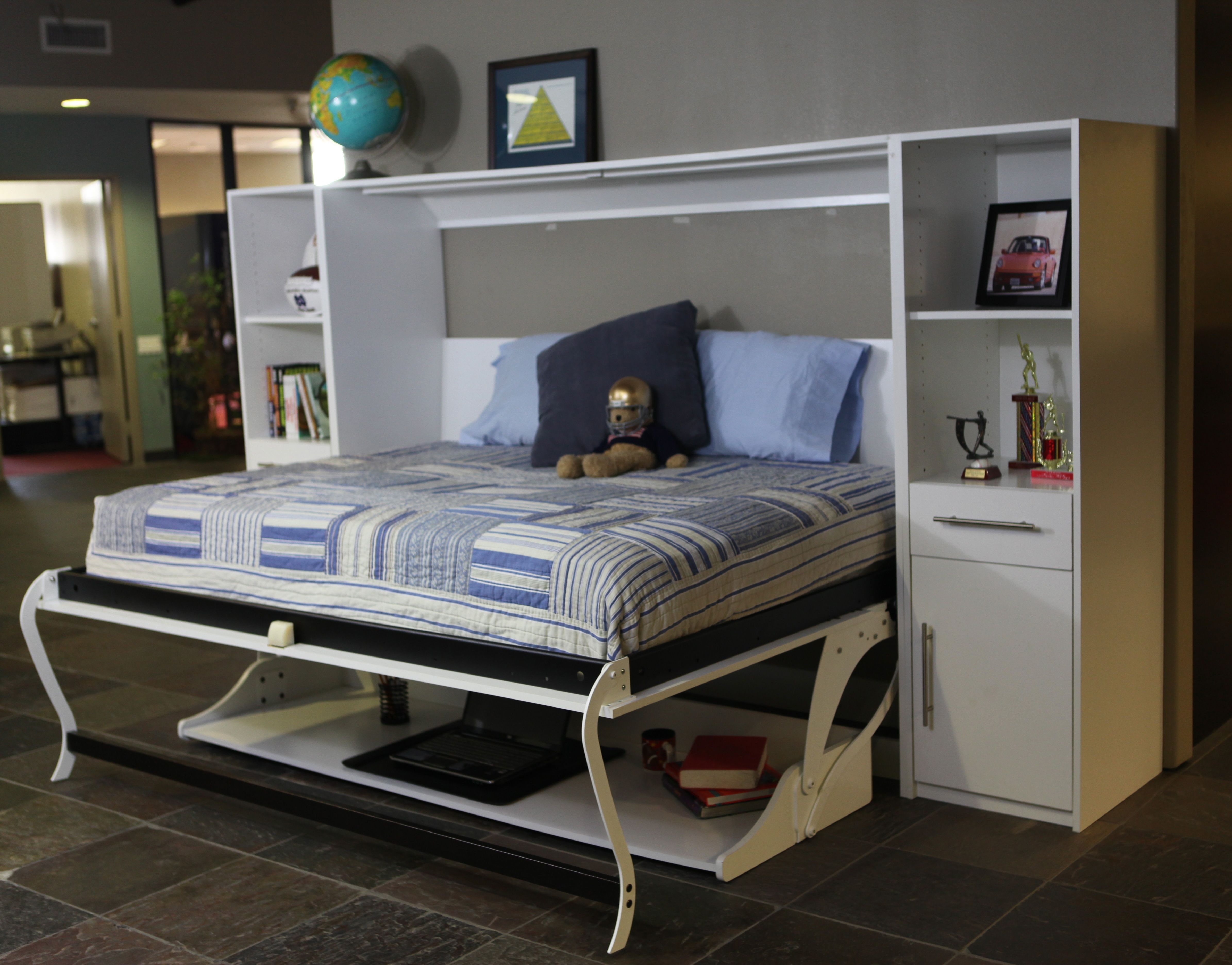 Murphy Deskbeds For The Boys Room I Want One Pinterest
