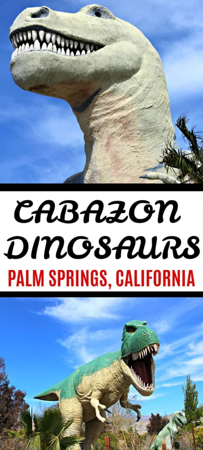 Visit Cabazon Dinosaurs On The Way To Palm Springs