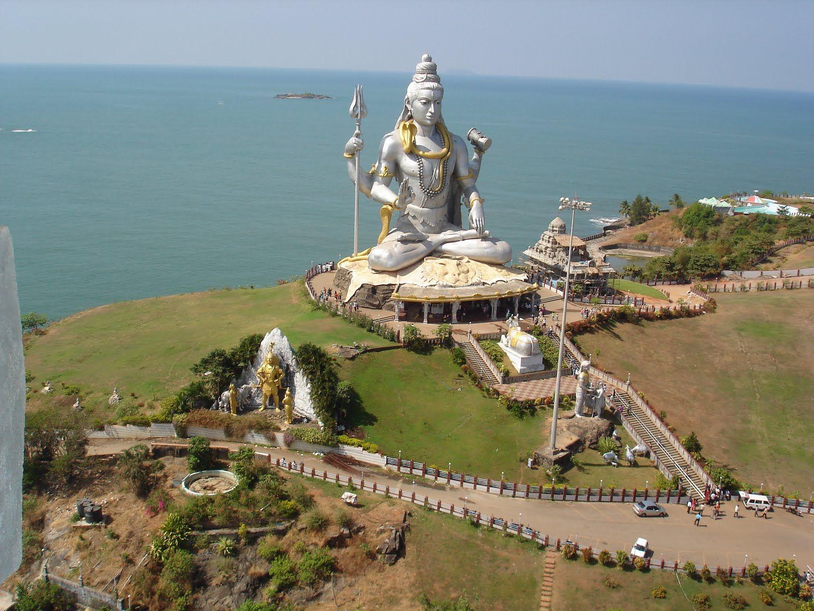 big statue of shiva Tourist Attractions
