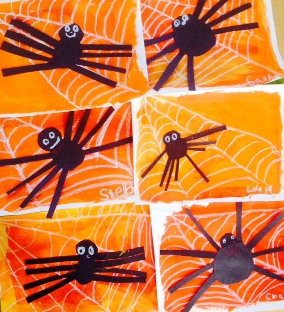 Halloween Art Project Kindergarten