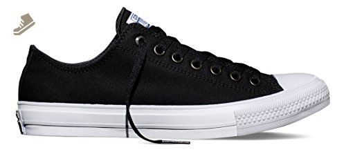 da5411aacc93 Converse 150149C   Mens Chuck Taylor All Star Low II Sneaker (Black White