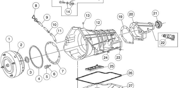 Diagramas De Transmisiones Automaticas Toyota 7 Ford Diagram