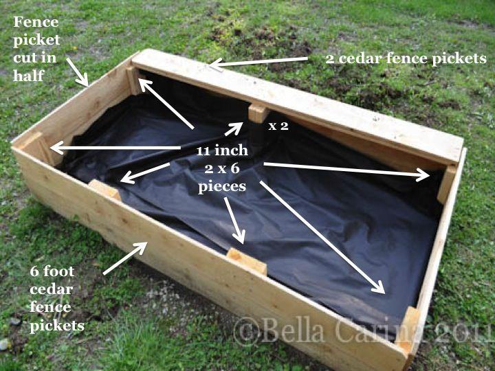Brilliant Building A Raised Garden Box How To Build A 400 x 300