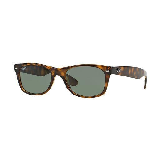 9da8350254 Ray-Ban New Wayfarer Sunglasses Brown Medium Green - Case Sunglasses at Academy  Sports