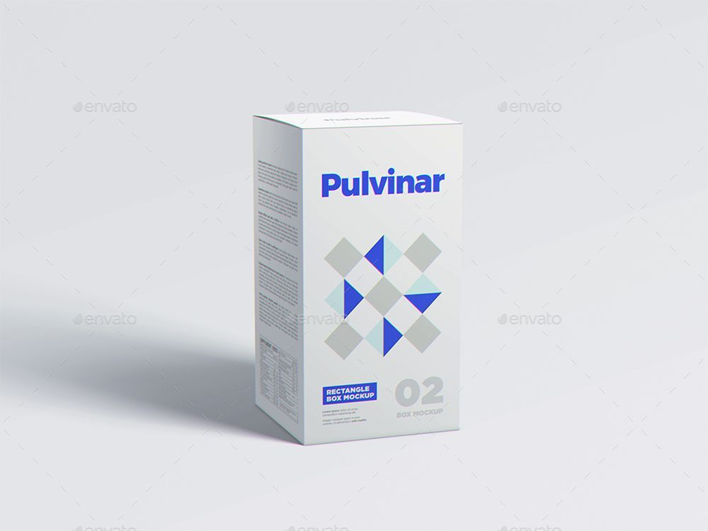 Download Box Packaging Mockup Rectangle Ad Packaging Affiliate Mockup Box Create Realistic Box Mockup Medicine Box Design Packaging Mockup