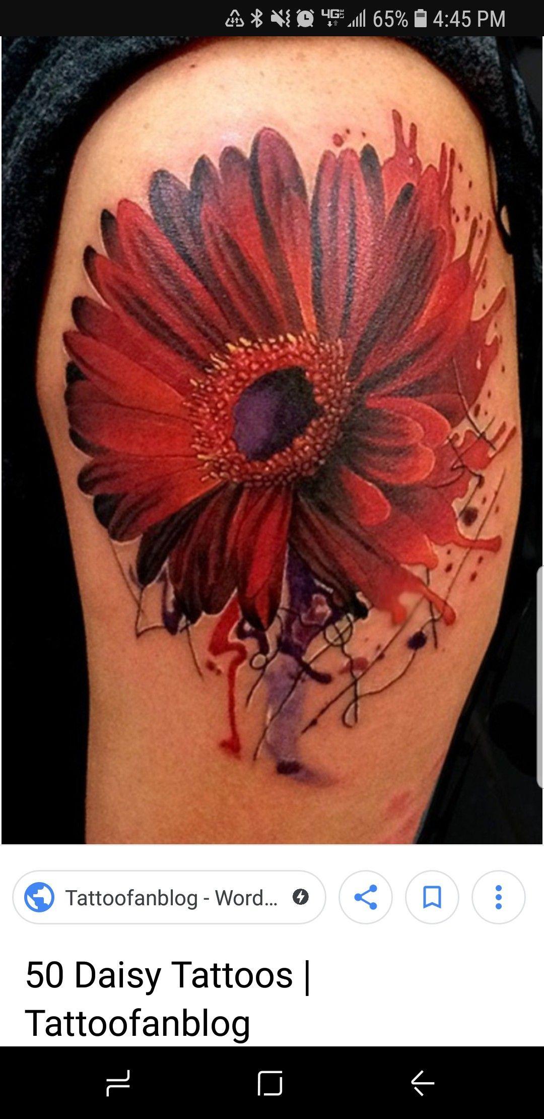 Pin by Amber Kollaja on Tattoos Daisy tattoo, Daisy