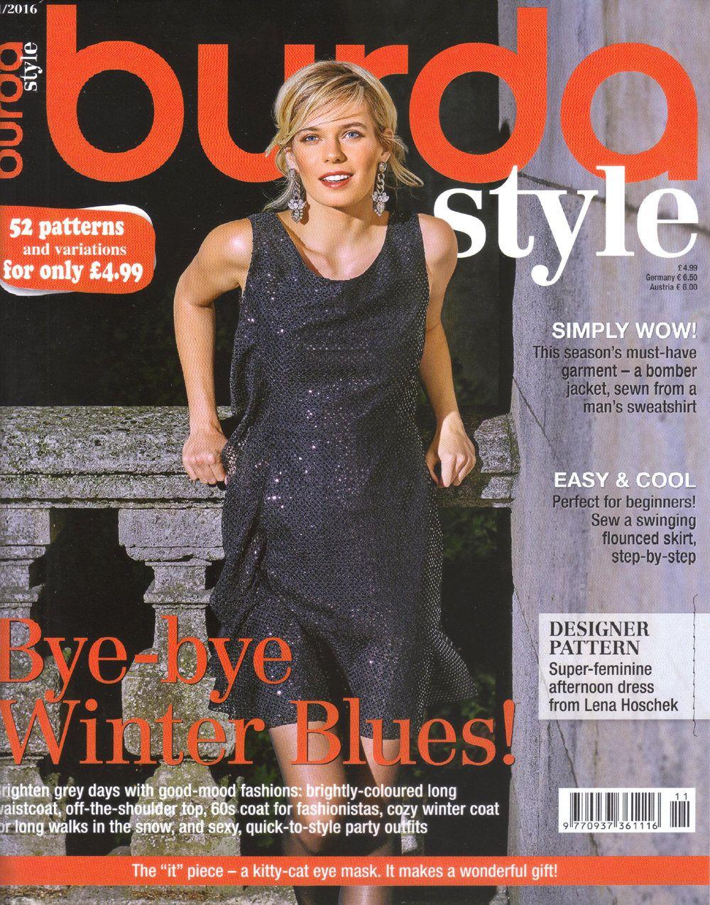 Burda style magazine 112016 english sewing patterns by burda style magazine 112016 english sewing patterns by honeyjamsuniques on etsy jeuxipadfo Image collections