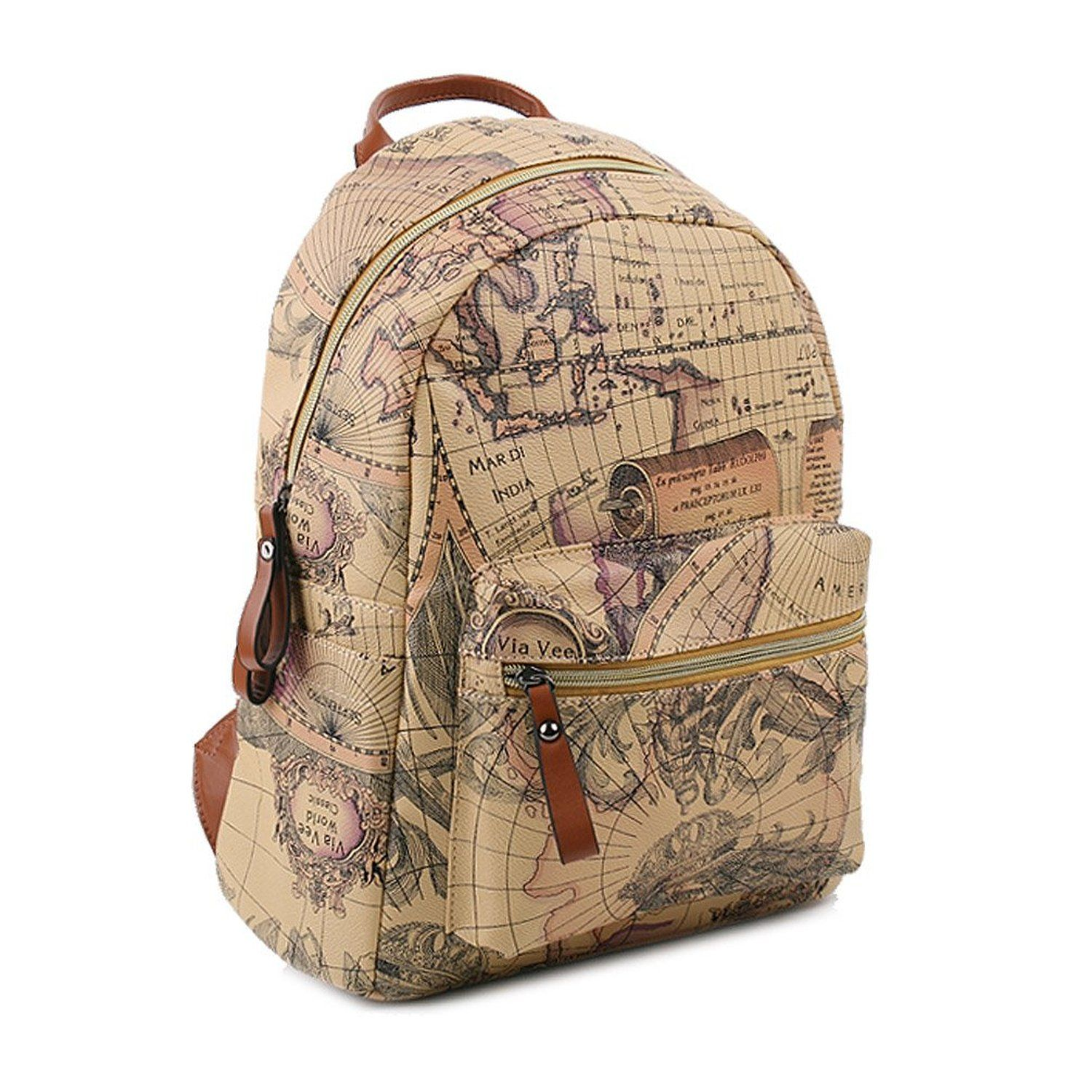 Copi womens map print pattern collection fashion backpack wow copi womens map print pattern collection fashion backpack wow i love this check it out now travel backpack travels pinterest gumiabroncs Image collections