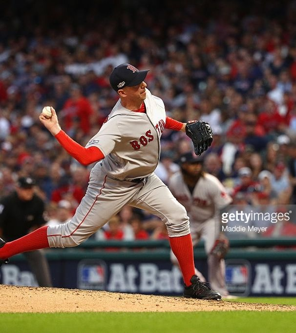 Brad Ziegler, BOS//Oct 7, 2016 GAME 2 ALDS at CLE